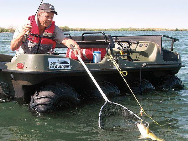 купить для рыбалки машину